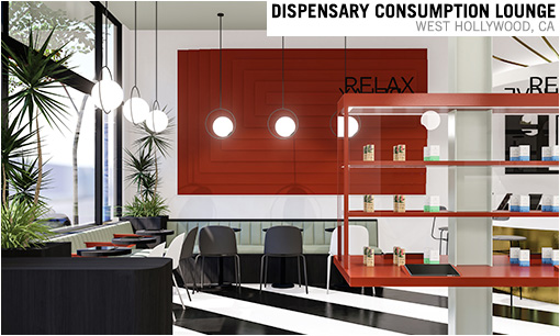 Dispensary Consumption Lounge Color
